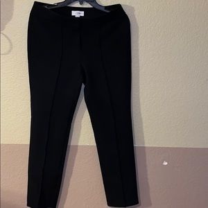 Ann Taylor skinny tapered black pants